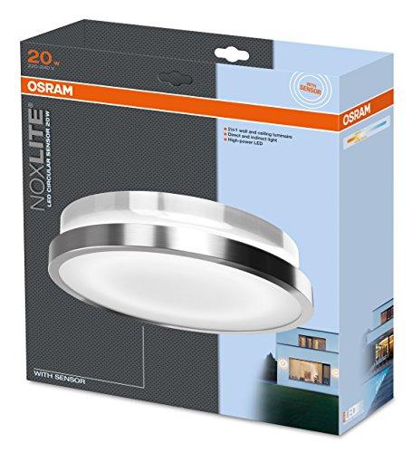 preisvergleich osram led wandlampe noxlite silber. Black Bedroom Furniture Sets. Home Design Ideas