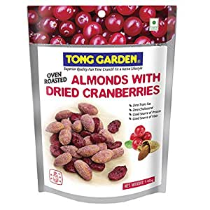 Tong Garden Almonds with Cranberries Pouch, 140g