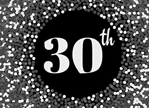 30th: Grey Cover Design 30, Thirtieth, Birthday, Wedding Anniversary Party Guest Book. Free Layout Message Book For Family and Friends To Write in, ... size: Volume 33 (Celebration Guest