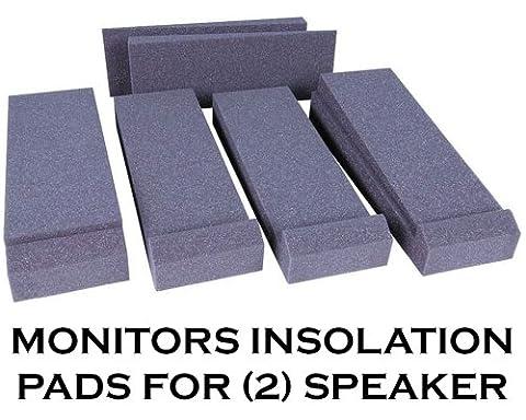Talent Monitorpad moniteur Coussinets isolants, 1paire pour ensemble de 2haut-parleurs,