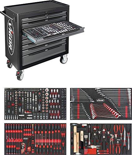Vigor 1000 XL Gesamtlänge: 907 mm, Anzahl Werkzeuge: 375, 1 Stück, V4542