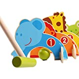 #3: Trinkets & More™ - Animal Croquet Game Set Gate Ball | Mini Golf Set | Pretend Play Toys for Kids and Preschoolers 3+ Years (Random Colours)