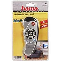 Hama 40085 Télécommande Zapper universelle 2 en 1 Argent