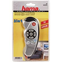 Hama - Universal 2 in 1 Zapper control remoto, AAA