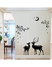 Oren Empower Creative Peace of Mind Wall Stickers (85 cm x 60 cm, Black)