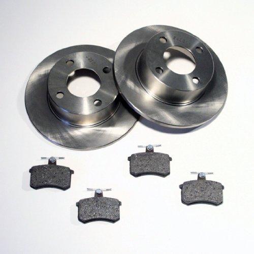 Bremsscheiben/Bremsen + Bremsbeläge hinten