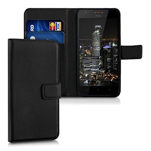 kwmobile HTC Desire 825 Hülle - Kunstleder Wallet Case für HTC Desire 825 mit Kartenfächern und Stand