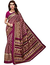 1e8d6a7cc1d89 Anni Designer Women s Bhagalpuri Ethnic Printed Casual Wear Saree with Blouse  Piece(AD-MULTI