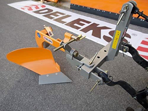 Pflug, Einscharpflug für Traktoren wie z.B. Iseki, Carraro, Kubota, Goldoni von 22 bis 35 PS - DP- 20