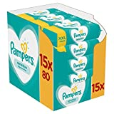 Pampers Sensitive Babydoekjes, 1200 Doekjes