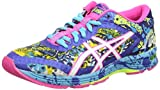 Asics - Gel-Noosa Tri 11, Zapatillas de Running Mujer, Azul (Asics Blue/White/Hot Pink 4301), 37.5 EU