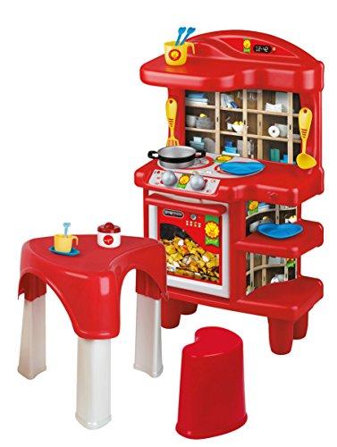 Unogiochi 1564MC Mister Chef Küche mit Kleiner Tisch Spielset