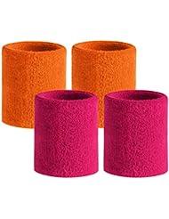 HOTER Sportline Wrist Band, Terry Cloth Wristband, Sweat Band, Sweatband (Price for SINGLE PIECE)