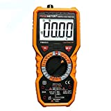 vλ//Peakmeter pm890 C Digital True RMS 6000 Counts Multimeter DC/AC Current Spannung Kapazität Widerstand Frequenz Temperatur HFE Tester