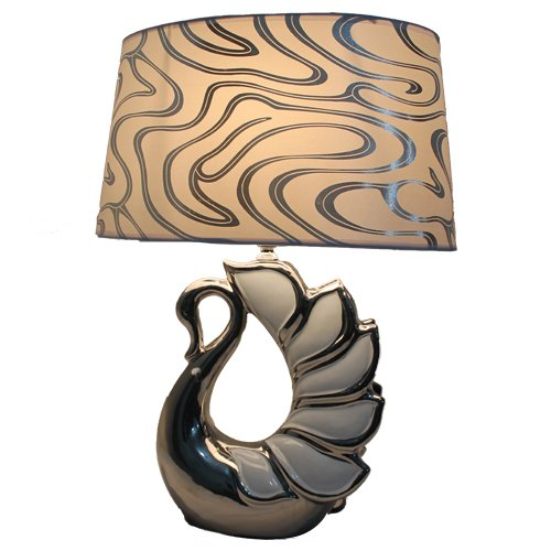 Scrafts Table Lamps Elegant Bird Shade