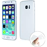 Coque Samsung Galaxy S7 Edge Cover Case Souple Transparent – Etui Premium Gel Silicone Ultra Mince (0,7mm) Housse Protection TPU Clair Adhérence parfaite - Protection Crystal Invisible Galaxy S7 Edge