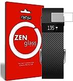 nandu I ZenGlass Flexible Glas-Folie für Fitbit Charge/Charge HR Panzerfolie I Bildschirm-Schutzfolie 9H