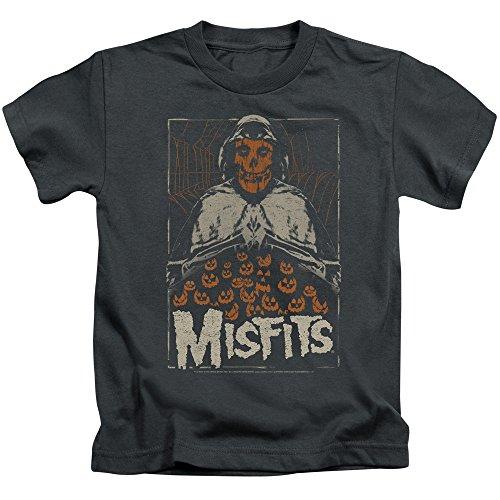 Misfits - - Jugend Ich erinnere Mich an Halloween T-Shirt, Medium (5/6), Charcoal