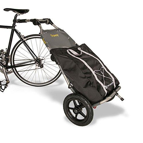 Burley Travoy Fahrrad Lastenanhänger und Einkaufs-Trolley (inkl. Kupplung)