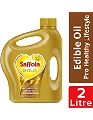 Saffola Gold, Pro Healthy Lifestyle Edible Oil, Jar, 2 L