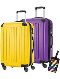 Capital hauptstadtkoffer Mach mucho · 2funda rígida de maleta Set Spree–82L (aprox. 65x 40x 30cm–1203+ diseño equipaje etiquetas/etiquetas