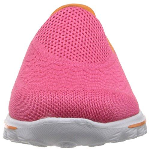 Skechers Go Walk 2Hyper, Sneaker Donna Rosa