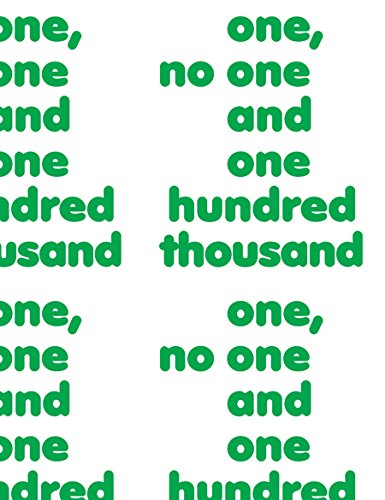 One, No One and One Hundred Thousand par Luca Lo Pinto