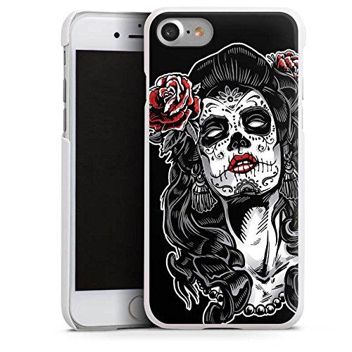 Apple iPhone 7 Hülle Case Handyhülle Zombie Catrina Halloween