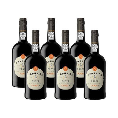6 Flaschen -Portwein Ferreira Tawny NV - Dessertwein