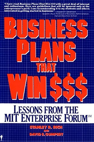 Business Plans That Win $$$: Lessons from the MIT Enterprise Forum by Stanley R. Rich (1987-02-18) par Stanley R. Rich