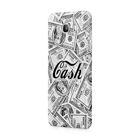 Cash Hundred Dollar Bills Franklins Benjis Plastic Snap-On Protective Case Cover For Samsung Galaxy J5 2016 Coque Housse Etui