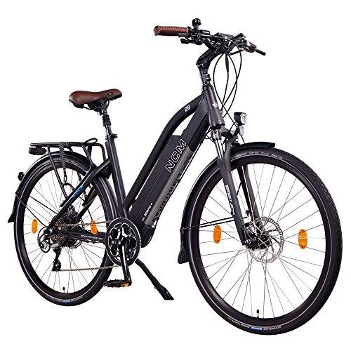 NCM Milano+ Ciry / Urban E-Bike - 28 Zoll - Schwarz