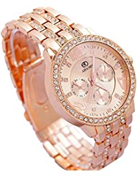 ADAMO Analog Rose Gold Dial Women's Watch-839KKM21