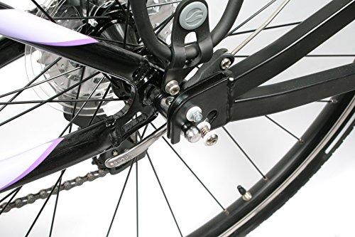 Bike Original Fahrradanhänger Mono Rad mit Stoßdämpfer -