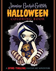 Jasmine Becket-Griffith Coloring Book: A Spine-Tingling Fantasy Art Adventure