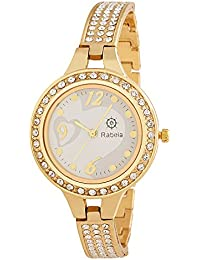 Rabela Women's Analogue white Dial Watch RAB-822