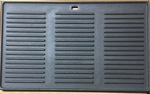 GP2 XXL plancha de hierro fundido/aprox. 48,7 x 29,6 cm/Reversible Placa/pizza placa/para barbacoas de gas – para profesionales NEU/OVP