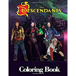 Disney Descendants 3 Coloring Book: Descendants Coloring Books for Kids and Adults