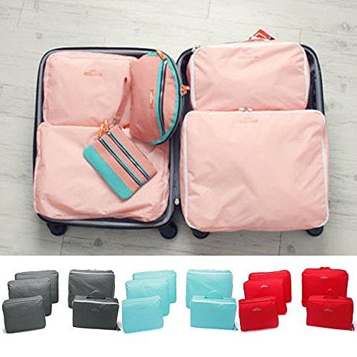 Ducomi , Kofferorganizer rosa Pink