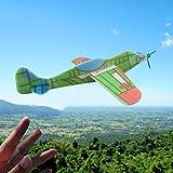 WOWOSS 24Pcs Avion Planeurs Enfant Jouet, Mousse Main Lancer Planeur Avion Polystyrène Modèle DIY Jouet Planeur pour Enfants