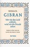 Wer nie das Leid erblickt, wird nie die Freude sehen - Texte für helle und dunkle Tage - Khalil Gibran, Ursula und S.Yussuf Assaf (Übers.)