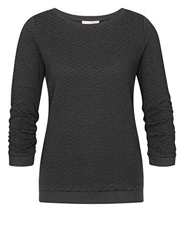 TOM TAILOR Denim Damen Sweatshirt dunkelgrau M