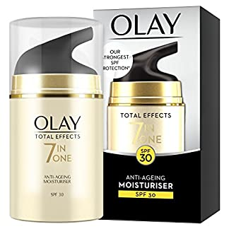 Olay Total Effects, 7 en 1 Crema Hidratante Anti-Edad SPF 30, 50 ml