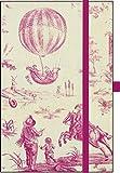 Premium Notes Small TextileToile de Jouy: Notizbuch klein mit Textileinband