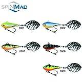SpinMad WIR 10g Jig Spinner//Jig-Spinner//Tail-Spinner//Mehrere Farben zur Auswahl! Farbe 0801
