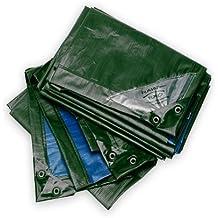 Lona Rain Exo Verde / Azul RX150-2x3 Rain Exo 2x3m Extremadamente Resistente