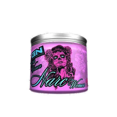 GN Laboratories Iron Women (Narc Women GN Laboratories, 150g, Fruit Punch - Der unerreichte Klassiker im Bereich der Pre-Workout Supplements für maximale Energie, einen rasiermesserscharfen Fokus und einen irren Pump) (Womens Bereich)