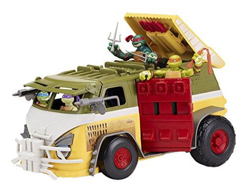 TORTUGAS NINJA Teenage Mutant Ninja Turtles–Turtle Van Fahrzeug mit Figur (GIOCHI PREZIOSI ()