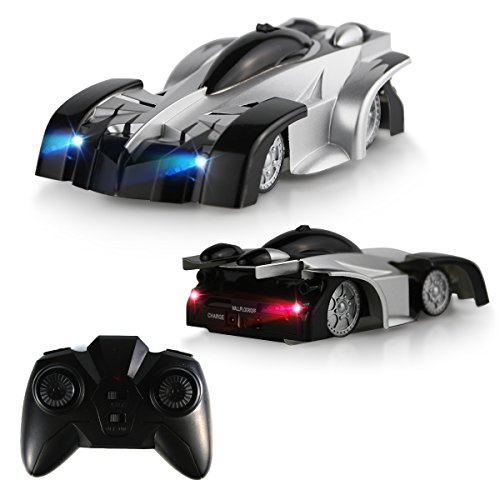 Remote Control Car - QUN FENG Remote Control Stunt Car RC Electric Racing Vehicle Perfect for Kids Boys Best gift (Black)