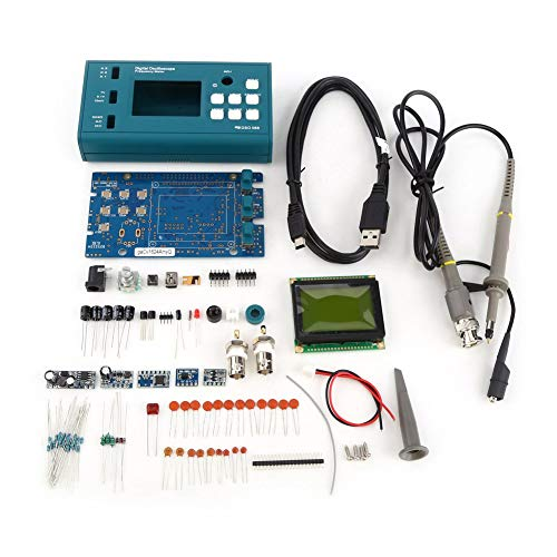 Single-channel-speicher (Digital Storage Oscilloscope DIY Kit Auseinandergebaute Teile mit LCD 20 MHz Probe Teaching Set Single Channel)